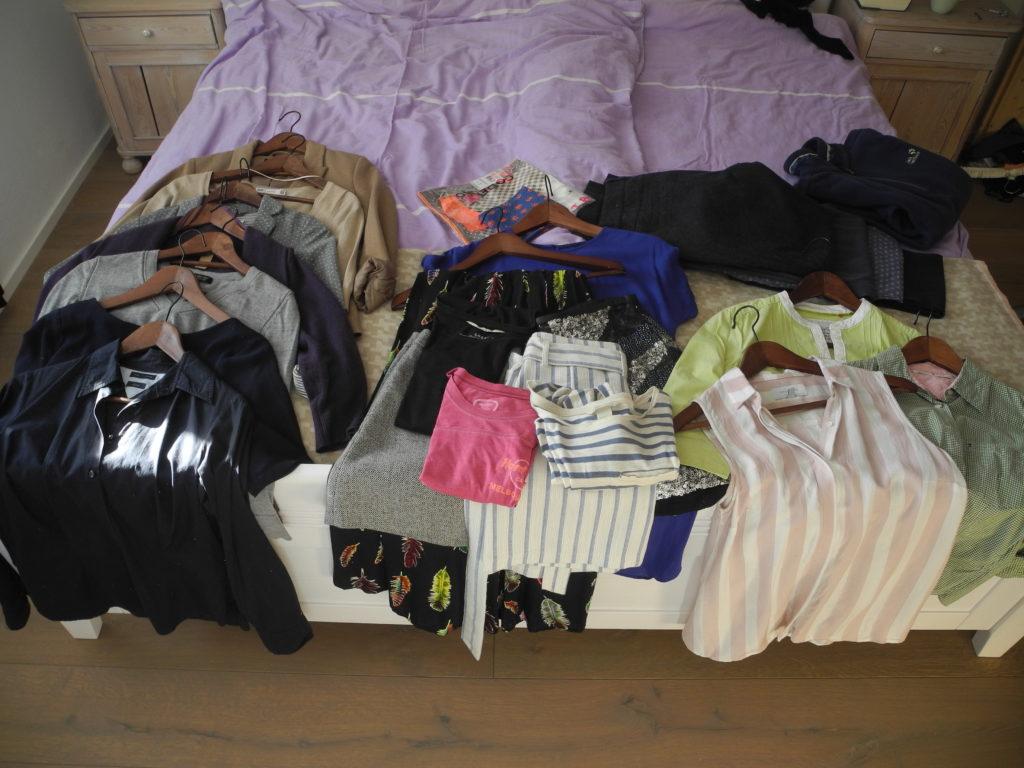 Aussortierte Kleidung