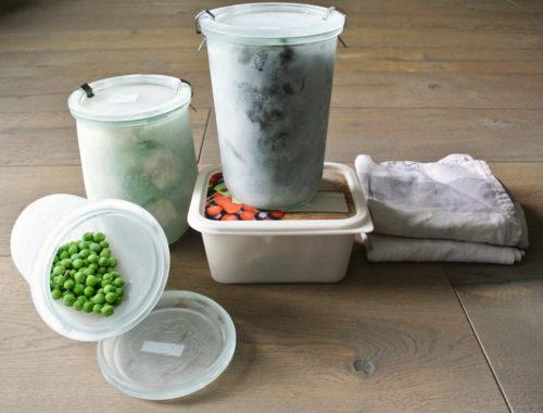 Plastikfrei Einfrieren ohne Plastik