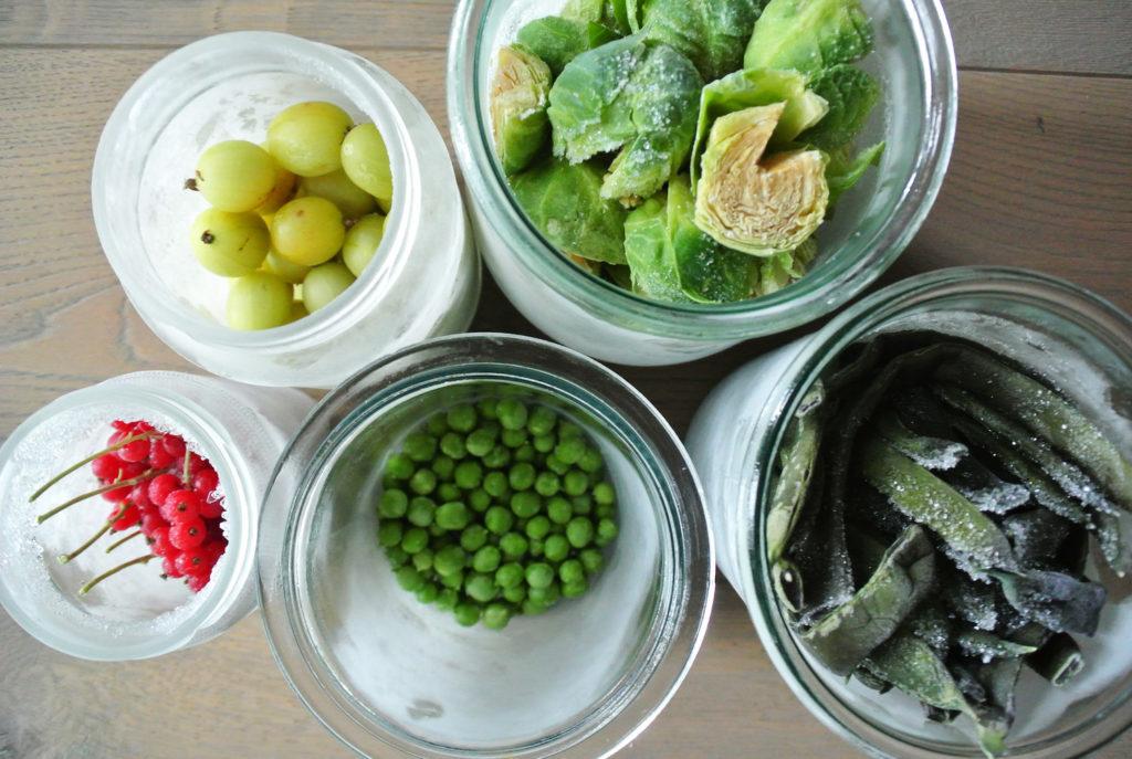 Gemüse Zero Waste tiefkühlen